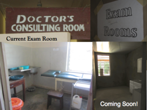 Egbe Hospital Exam Room