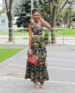 2013 ankara dress style