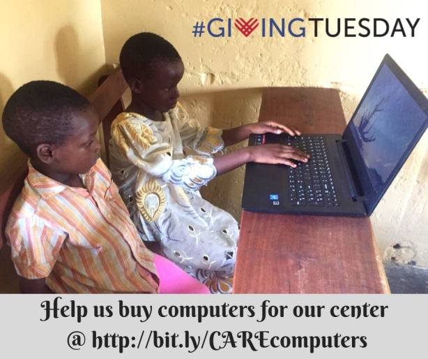 Help us buy computers for our center by visiti
