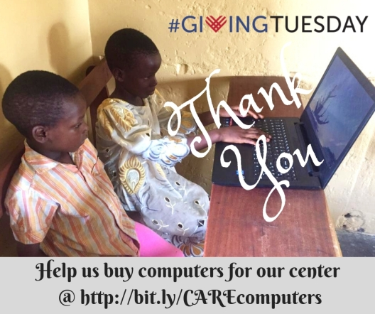 Help us buy computers for our center by visiti (1)